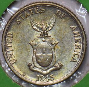 Philippines 1945 D 20 Centavos Eagle animal 294878 combine