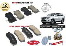 Pour Toyota Land Cruiser 150 3.0 TD D4D 2009 - > AVANT + PADS Disque de frein arrière fixés