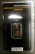 2 gram Gold Bar - Argor-Heraeus (In Assay)