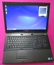FAST! Dell Precision M6600 Intel I7-2760qm 2.4-3.5Ghz 8GB ram 500GB W7 AMD M6100
