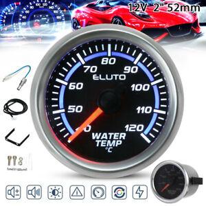 2'' 52mm Blue LED Digital Car Water Temp Gauge Temperature Meter & Senso