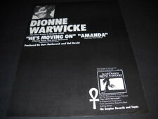 Dionne Warwicke new single is He'S Moving On from Love Machine 1971 Promo Ad