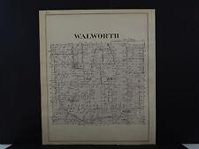 New York, Wayne County Map, 1904 Township of Walworth Q3#25