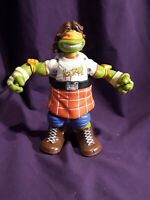 Teenage Mutant Ninja Turtle WWE Ninja Super Stars Michelangelo Rowdy Roddy Piper