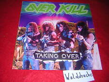 Overkill-taking over, n0069 VINILE LP 1987