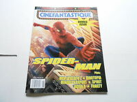 JUNE 2002 CINEFANTASTIQUE movie magazine (UNREAD) SPIDERMAN