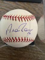 Aramis Ramirez autographed offical Major League Baseball w/COA