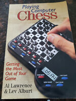 Playing Computer Chess by Lawrence, Alburt Paperback Book USED Good Con
