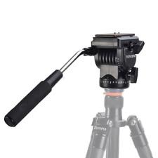 VILTROX Pro YT-950 Tripod Action Fluid Drag Head Ball head Video Camera For DSLR