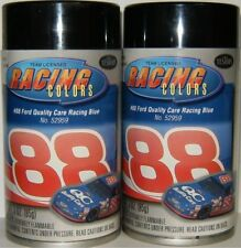 Testors Racing Colors #88 Ford Quality Car Blue Model Car Spray Paint Enamel