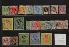 !   Sierra Leone 1912-1928.  Lot Of 23 Stamp. YT#. €78.00 !
