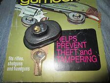Gun Lock gâchette w/2Key pour arme à feu fusil dechasse universelle pistolets