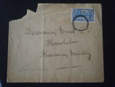OCEANIE OCEANIA ENVELOPPE LETTRE COVER MARITIME POST OFFICE RMS TAHITI PAQUEBOT