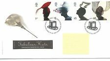 GB - FIRST DAY COVER - FDC - COMMEMS -2001- HATS - Pmk  TH