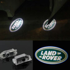 4x LED 3D Logo Door welcome Projector Light For 2010-2019 Land Rover Range Rover