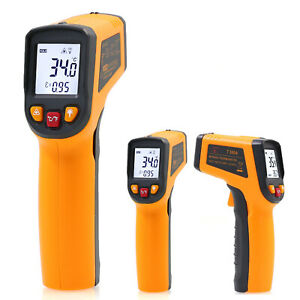 Digital Thermometer Infrared Handheld Temperature Gun Non-Contact IR Laser Point