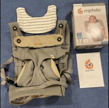 Ergobaby 360 baby carrier with infant insert and drool pad