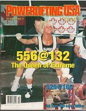 POWERLIFTING USA muscle weightlifting magazine/Nance Avigliano 10-02