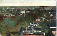 Bird's Eye View Albion New York Vintage 1909 Postcard EE1
