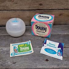 Vintage Downy Ball Fabric Softener Laundry Detergent Old Store Product COMPLETE
