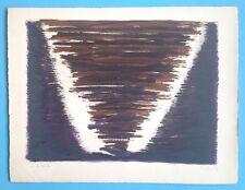 Jean PONS Lithographie Originale de 1959 Signée 50x65cm Abstrait 55ans Imprimeur