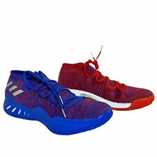Adidas SM Crazy Explosive Low Gauntlet 2017 Red And Blue Mens Sz 17 14.5 AQ0443