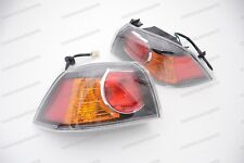Outside Rear Tail Lights Pair For Mitsubishi LANCER EVO 2006-2012