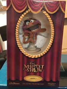ANIMAL BUST THE MUPPETS STATUE SIDESHOW BRAND NEW IN THE BOX