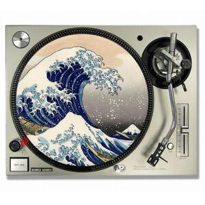The Great Wave Off Kanagawa Hokusai Vinyl DJ SLIPMATS / Turntable SLIP MATS X 2