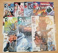 Marvel Knights issues 1 & 3-8 (Marvel 2000 comic book lot/run) 4 5 6 7