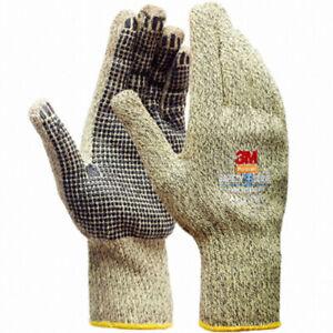 3M Safety Aramid Fiber Heat Thermal Resistant Gloves Work Safety Gloves (XL) i