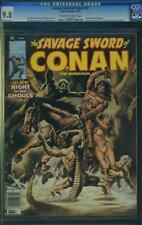SAVAGE SWORD OF CONAN #32 cgc 9.8