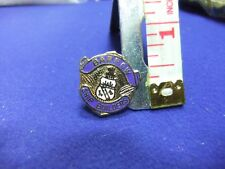 vtg badge barrow ship builders nautical union association souvenir member boat
