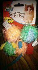 New Fritz & Friends Cat Toy 4 Pack