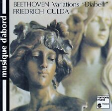 BEETHOVEN : VARIATIONS DIABELLI - GULDA / CD - TOP-ZUSTAND