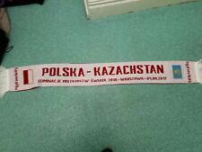 POLONIA - Kazachstan tifosi di Calcio Sciarpa