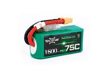 Acehe 3s 11,1V 1500mAh 75C XT60 4S1P High-End FPV Race LiPo Akku Batterie
