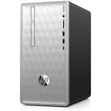 HP Pavilion 590-p0599ng Desktop PC i5-8400 8GB 256GB SSD Silver ohne Windows