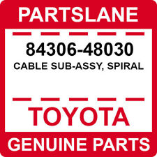 84306-48030 Toyota OEM Genuine CABLE SUB-ASSY, SPIRAL