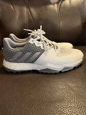 Adidas Adipower S Boost 3 Men's Size 11 Golf Shoes White Grey Spikeless