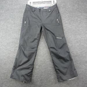 Burton Snowboard Ski Pants Youth Size L (14-16) Black Waterproof Pants *Note