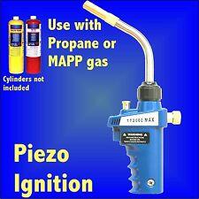 Piezo Self Ignition Plumbing Blowlamp Torch for Propane MAPP soldering brazing