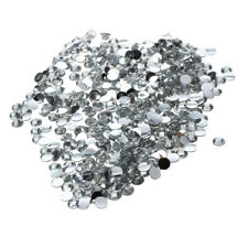 500pcs 3mm Round Rhinestones for Nail Art Craft--Clear