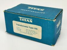 TITAN Transformator Type 106 220 V 24 VA, max. 1,5 A in OVP