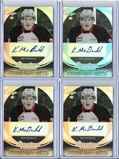 2015 Leaf Signature Series Prospect Kody McDonald Gray Auto RC 21/45 WHL Cougars
