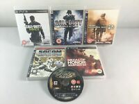 PS3 Playstation 3 Game Bundle | 6 Games Included | Good Condition | Call of Duty