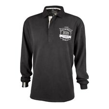 NWT GUINNESS RUGBY SHIRT LONG SLEEVE MENS XL BLACK WASHED