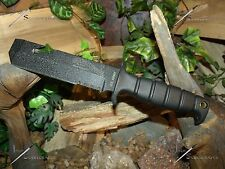 Survival knife/Bowie/Chisel/Licensed Army/Heavy duty/MOLLE/ 5MM/Camping/Combat