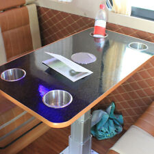 Stainless Steel Recessed Cup Drink Holder for Marine Boat RV Camper