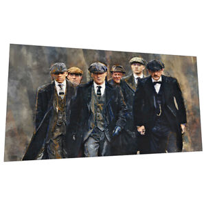 On A Mission - Birmingham Peaky Blinders wall art poster - Size 353mm x 594mm